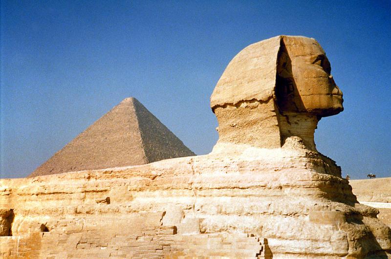 SK: Sfinks, Egipt, Giza fot. AKPA