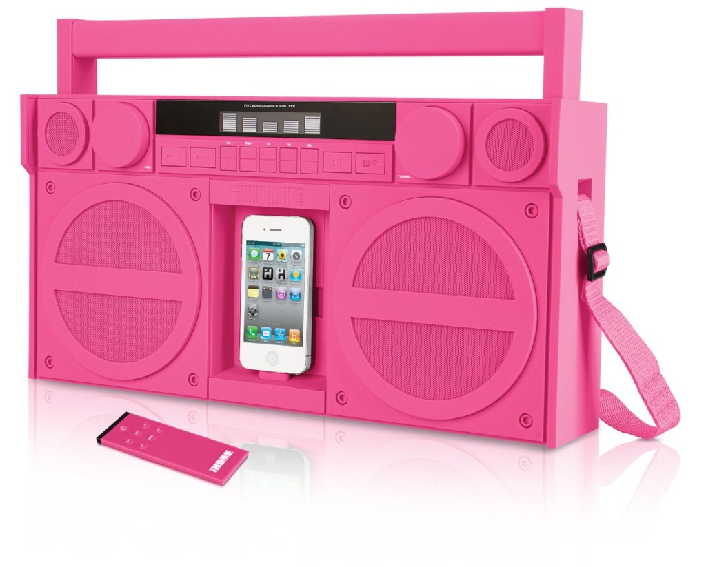 iHome-casetofon_iPod_roz