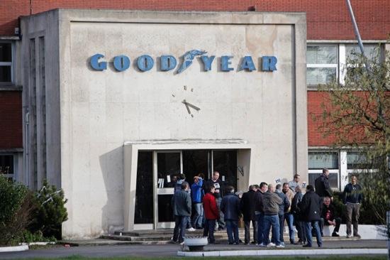 France Goodyear Bosses Held