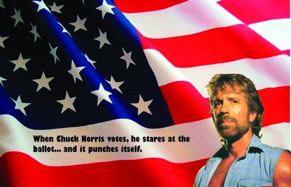 Chuck Norris Poster Final