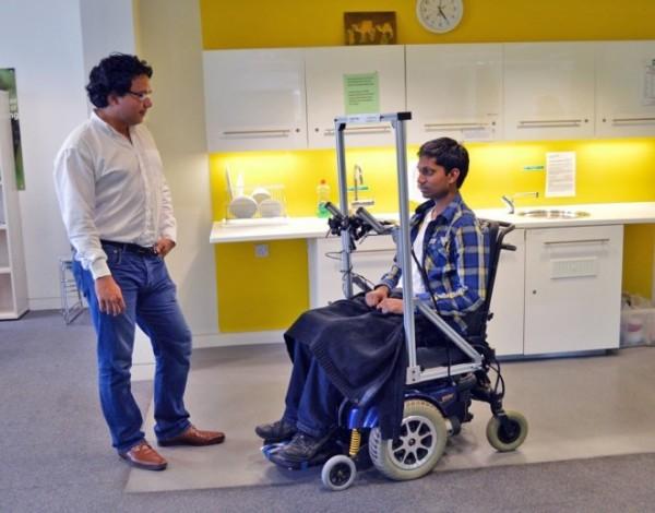 dr-aldo-faisal-left-kirubin-pillay-demonstrate-hands-free-wheelchair-driving-using-prototype