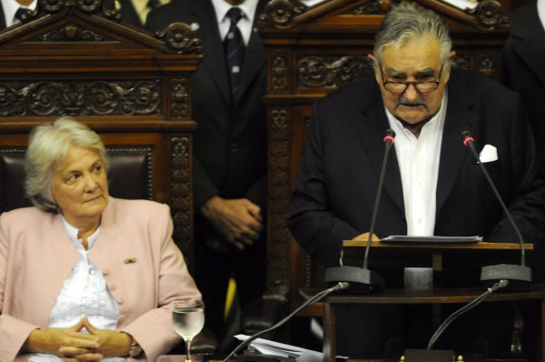 JOSE MUJICA INAUGURATED AS NEW URUGUAYAN PRESIDENT