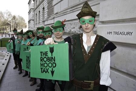 Robin Hood Tax campaign