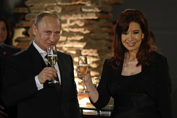Russian President Vladimir Putin Visits Argentina