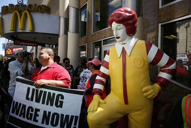 mcdonalds-staff-have-staged-calling-15-hourly-wages-union-representation-reuters