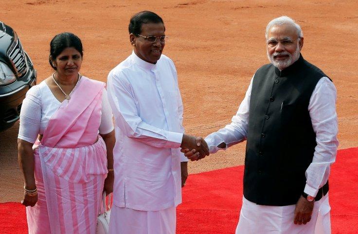 sri-lankas-maithripala-sirisena-indias-narendra-modi