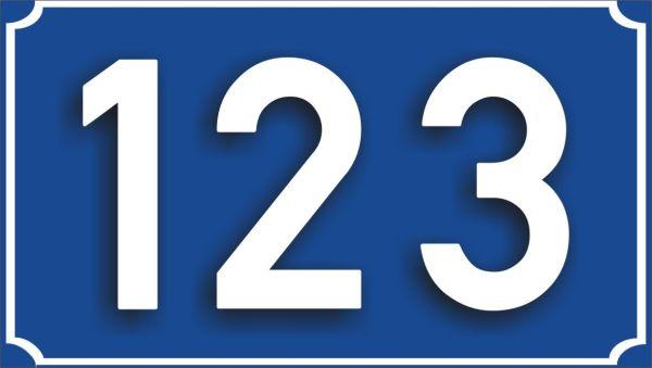 123 albastru