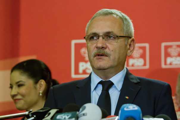 Liviu Dragnea sustine o conferinta de presa dupa terminarea sedintei Comitetului Executiv al PSD, in Bucuresti, marti 3 ianuarie 2017. ALEXANDRA PANDREA/MEDIAFAX FOTO