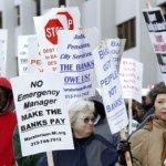 Detroit începe lupta împotriva falimentului