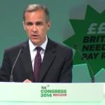 Guvernatorul Bancii Angliei, Carney abordează sindicatele privind salariile