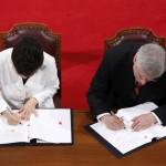 Canada și Coreea de Sud semnează un acord de liber schimb