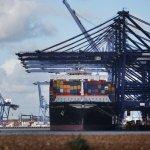 Deficitul comercial din Marea Britanie s-a retrâns
