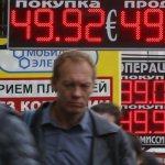 Rubla rusească a ascăzut la un nivel record faţă de dolarul american