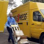 Poșsta germană face bani cu pachete expres