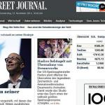 Wall Street Journal Germania la sfârșit