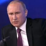 Putin linişteşte cetăţenii şi spune că rubla se va stabiliza