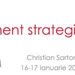 Managementul strategic, eveniment organizat de Romcom si recomandat de POINT EVENT