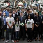 Angajații boicotează o fabrică VW