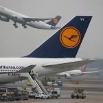 Acțiunile Lufthansa, în jos