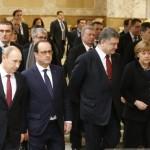 Putin anunţă încetarea focului în Ucraina