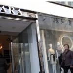 Zara înregistrează o creştere cu 5% a profitului