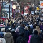 Britanicii au cumpărat cel mai mult în luna februarie