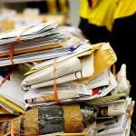 Șase milioane de scrisori stau pe loc
