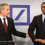 Acţiunile Deutsche Bank au crescut cu 7% după demisia directorilor executivi