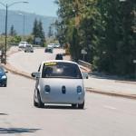 Google Car pornește