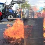 Fermierii francezi blochează granițele