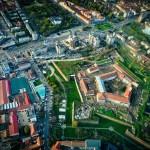Fluidizarea traficului din cel mai mare sens giratoriu din Oradea cu bani europeni