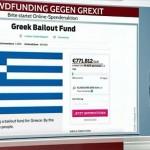 Britanicii vor să salveze Grecia prin crowdfunding