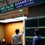 Acțiunile băncilor grecești continuă să scadă