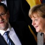 Merkel spune că Spania ajută Europa să iasă din situații de criză