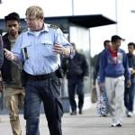 Danemarca oprește refugiați la graniță