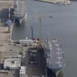 Egipt cumpără de la francezi navele de război construite initial pentru Rusia