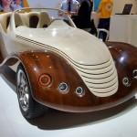 Succes romanesc neasteptat la cel mai mare targ auto din lume, primul cabriolet din lemn