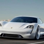 Porsche Mission E Electric Sports a lovit exact in plex pe TESLA