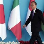 Ban Ki Moon vrea să viziteze Coreea de Nord