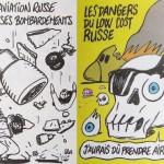 """Charlie Hebdo a publicat caricaturi despre incidentul aviatic din Egipt. Rusia reacţionează dur: """"Este vorba de o blasfemie, de chestiuni care nu au nicio legătură cu democraţia"""""""