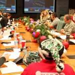 Traseul saniei lui Moș Crăciun, ilustrat digital de voluntari și angajați ai Comandamentului nord-american de apărare spațială