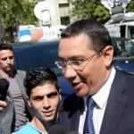 Victor Ponta, a fost audiat la DNA Oradea