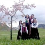 Protest în Capitală pentru familia de români ai cărei copii au fost luaţi de autorităţile norvegiene