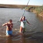 Zambetul zilei! Doi pescari