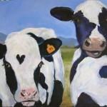 Zambetul zilei!  Vaca nu poate sa zambeasca