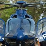 Petrecere privată cu elicopterele poliției germane