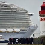 Franța testează cel mai mare vas de croazieră din lume