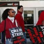 Muncitorii Verizon intră în grevă