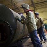 Producția industrială din SUA a scăzut din nou