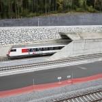 Noul tunel feroviar Gotthard din Elveția